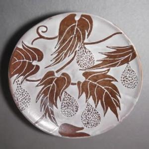 素敵なイラスト皿
