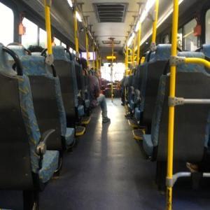 142日目  昨日の日曜日・バスと地下鉄に乗って・・・