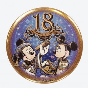 TDS【18周年 缶バッジ】品切れ