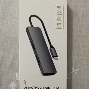 アップルストアーで購入したSATECHI USB-C Multiport Proのレビュー