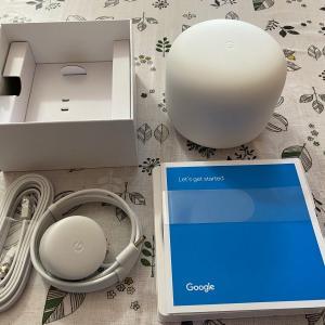 最近Wi-Fiの調子が悪いので思い切ってGoogle Nest Wi-Fi Routerを購入!気になるスピードは?