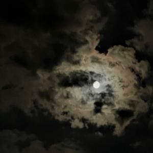 今年も見られた中秋の名月・・・2021年9月