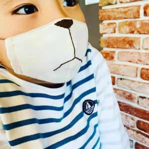 マスク嫌いな息子が、思わず付けたくなるマスク♪