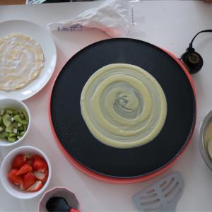 ホットケーキミックスが品薄⁈じゃぁ家にある材料で出来るクレープを♪