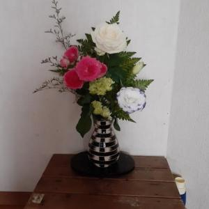 今日もお花を買いに