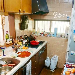 収納を増やした☆キッチン&リビングリフォーム