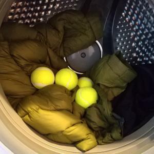 テニスボールでフッカフカ♪ダウンコートをお洗濯してみた件(2021年版)