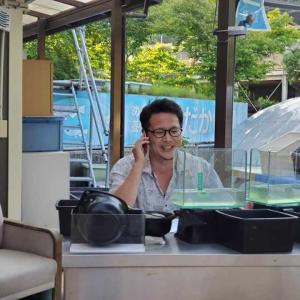 NHKラジオ広島の生放送に出演