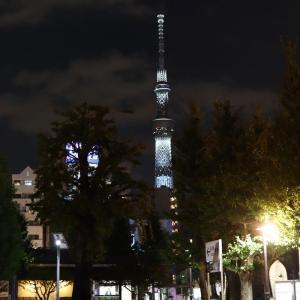 浅草寺・吾妻橋周辺から東京スカイツリーの夜景を撮影してみたので撮影スポットを紹介します