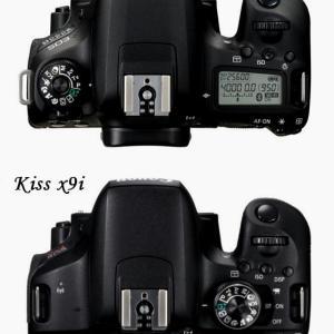 EOS 9000DとEOS Kiss X9iの違いを調べてみた