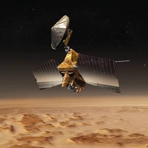 マーズ・リコネッサンス・オービターが火星から撮影した地球と月の写真が幻想的すぎる