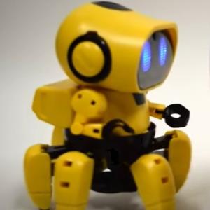 あとを着いてくる6足歩行の可愛いロボット「エレキット フォロ  MR-9107」