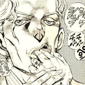 手首しか無い少し怖いアート作品が吉良吉影にしか見えない。ジョジョってやっぱりすごいな