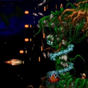 最高! PS1のグラディウス外伝に夢中! 2人協力プレイが可能なシューディングゲーム