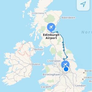 スコットランド遠征①