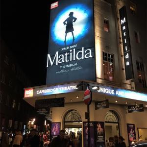 【レビュー】Matilda@Cambridge Theater