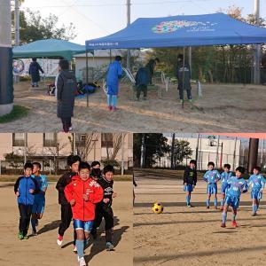 2月24日(月) 卒業記念サッカー大会・4年生トレーニングマッチ