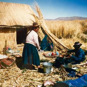 インカの末裔、チチカカ湖に暮らす民 1992年(2)