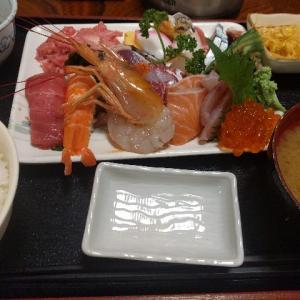 入谷斉藤の海鮮丼とお礼参り