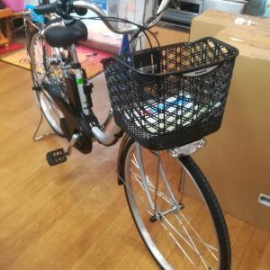 電動自転車納品です。