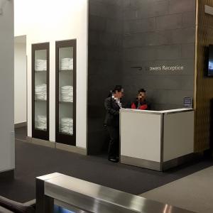 【ロンドンヒースロー空港・ラウンジ】ブリティッシュエアウェイズ・Galleries lounge