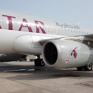 【カタール航空・ビジネスクラス】QR1353 ドーハ - キリマンジャロ