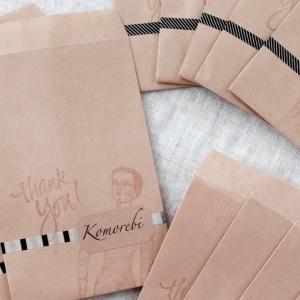 セリアのクラフト封筒が使える! ピアス・イヤリング用のお客様用紙袋