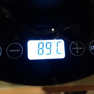 ドリテックの温度調整付きドリップケトルを買いました