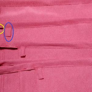 着物リメイクでふんどしパンツ_⑥タグパーツ作りました