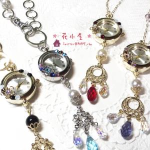 【新作販売】  時計二種・星のネックレスの作品