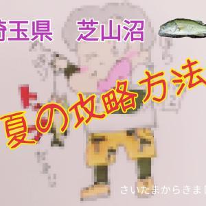 【沼バス】7月30日埼玉のメジャースポット「芝山沼」でフィッシュ!