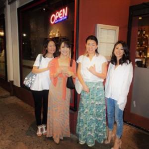 再会4人ディナー @ ミャンマー料理 & アメリカン・ダイナー✨