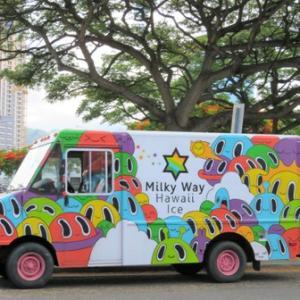 フード・トラック Milky Way ★ ビーチパークとダイアモンド・ヘッド✨