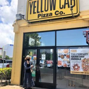 コスコの敷地内のアメリカンなピザ屋さん✨