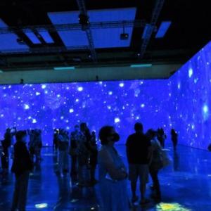 感動の光と音のデジタル・アート BEYOND Van Gogh展 ②✨