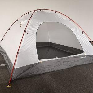 テントを設営してみました。