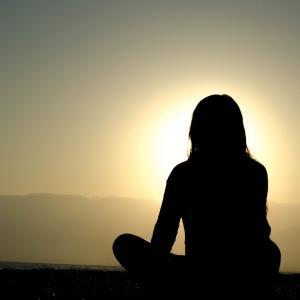 呼吸瞑想のための、誘導音声を作りました