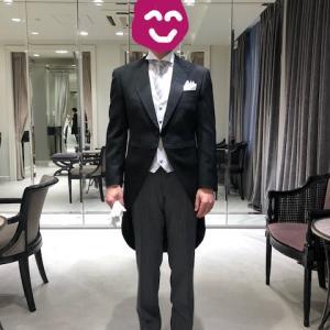 花嫁の父として、結婚式の衣装を試着してきた今日。