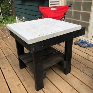人生で初めてのデッキテーブルDIY