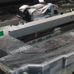 ブラザープリンターの廃インクパッド修理