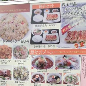 東京都台東区 入谷の中華料理店 メニューたくさん 安価