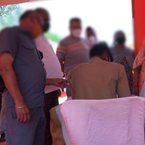 インドで2回目のワクチン接種