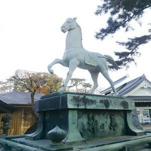 現代語釈  徳川実紀  23   元信君、幕府に良馬 嵐鹿毛を献ず。