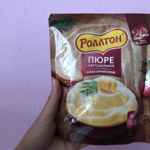 【ロシア】鉄道旅に必須!インスタントマッシュポテトを食べてみた