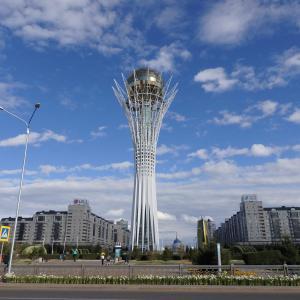 カザフスタン 建築家 黒川紀章の設計した都市【2017年】