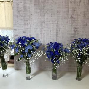 花で彩る~enjoy the flower~マミフラワーデザインスクール南柏教室作品展♪(パレット柏)