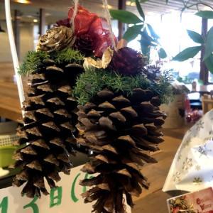 サフランズカフェでクリスマスオーナメント作り♪(流山市青田)