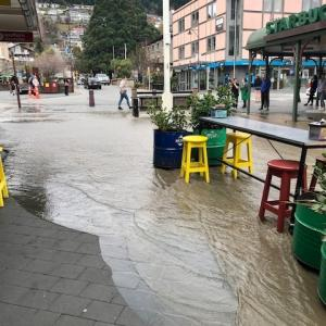 クィーンズタウンで突然の洪水
