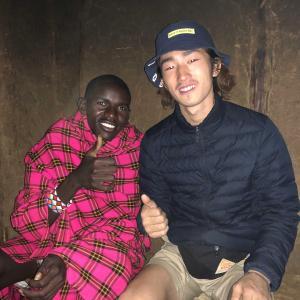 マサイ族の今。in ケニア