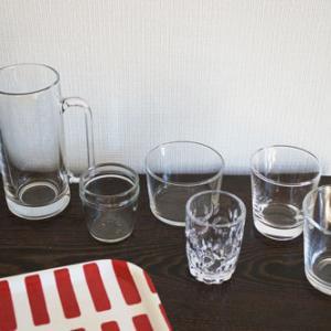 ワケあって我が家のグラスは不揃いなのです